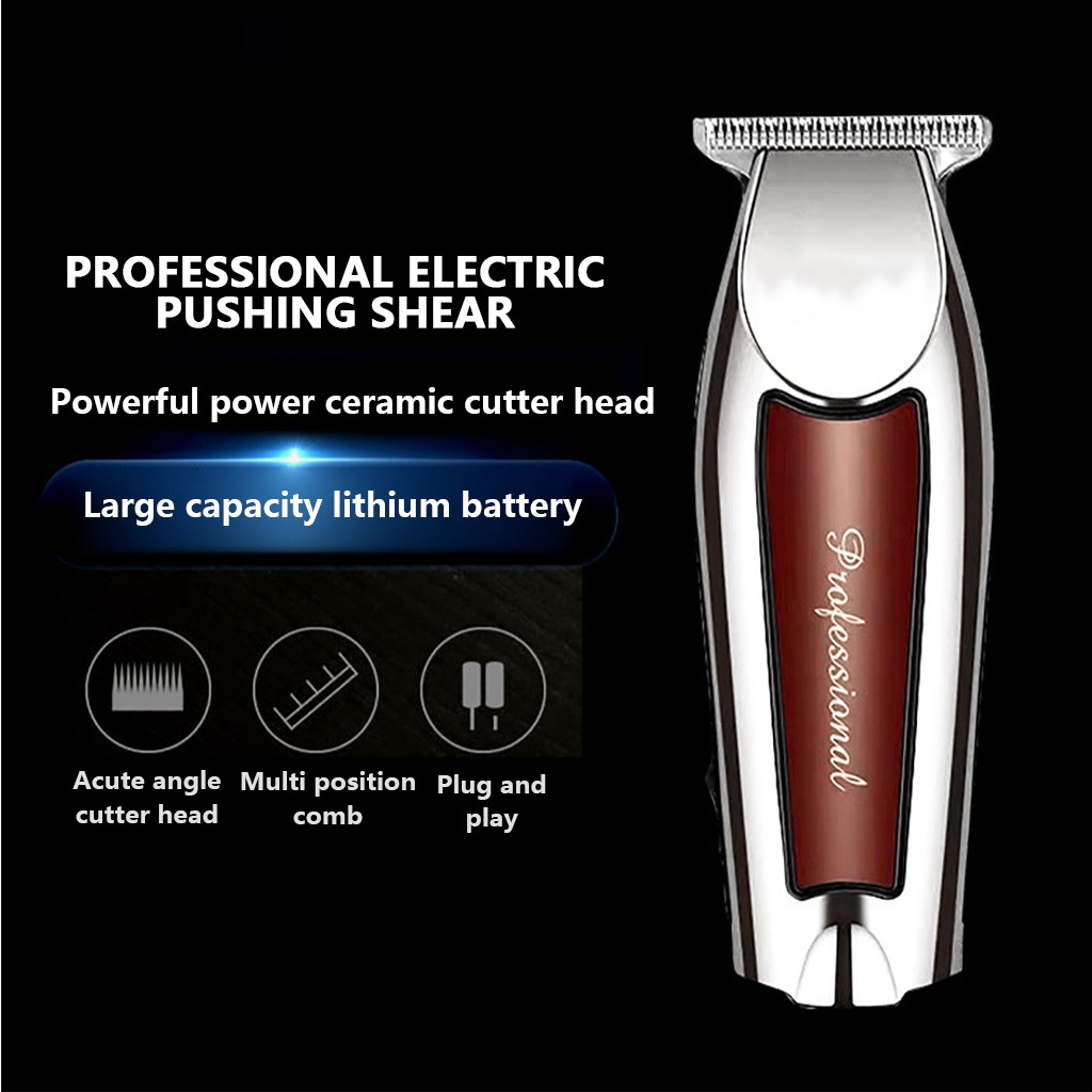 Electric Cutter Hair Cutting Machine Haircut Cordless Corded New 5 Star Detailer Pro Barber Hair-Trimmer Adjustable T-Wide Blade
