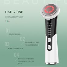 Maszyna do liftingu skóry do masażu twarzy Lifting ujędrniający odmładzanie skóry twarzy Anti-Aging narzędzie do pielęgnacji skóry twarzy
