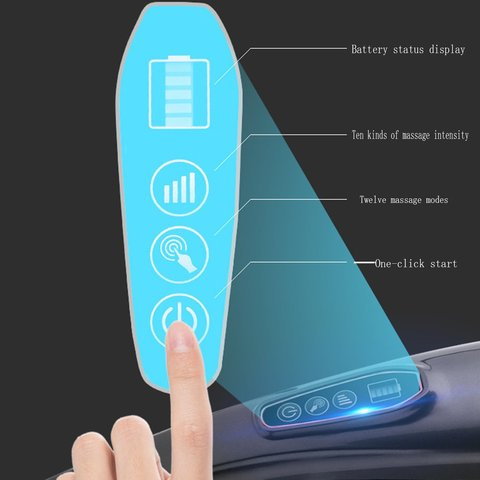 handheld massageador traseiro 10 velocidades 12