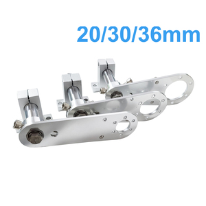 Image 1 - 固定ブラケットの ovw エンコーダ取付フレーム複合可動スライディングブラケット開口 20 30 36 ミリメートルエンコーダアクセサリー