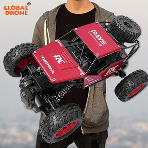 Toys for Boys RC Car 1:18 2.4GHz Racing Machines on the Control Panel Radio-Controlled Cars Gifts for Kids Child Crawls RC Buggy(China)