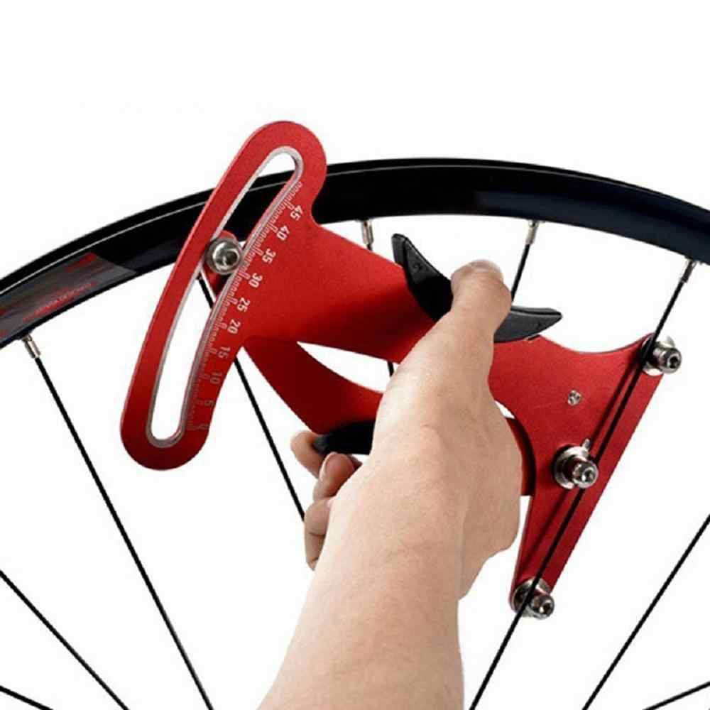 Professional Spoke Tension Meter Bike Wheel Spokes Gauge Wheel Correct Tool