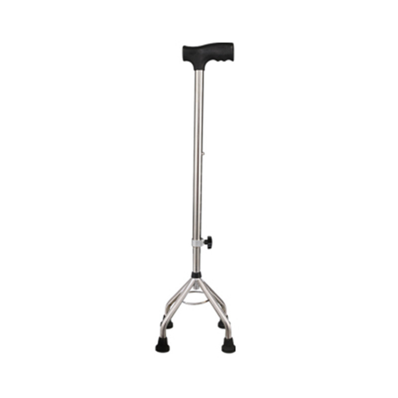 Crutches Elderly People Legs Retractable Wand Four Foot Cane Zhang Anti-slip Four Corners Wand Stick Walking Aid