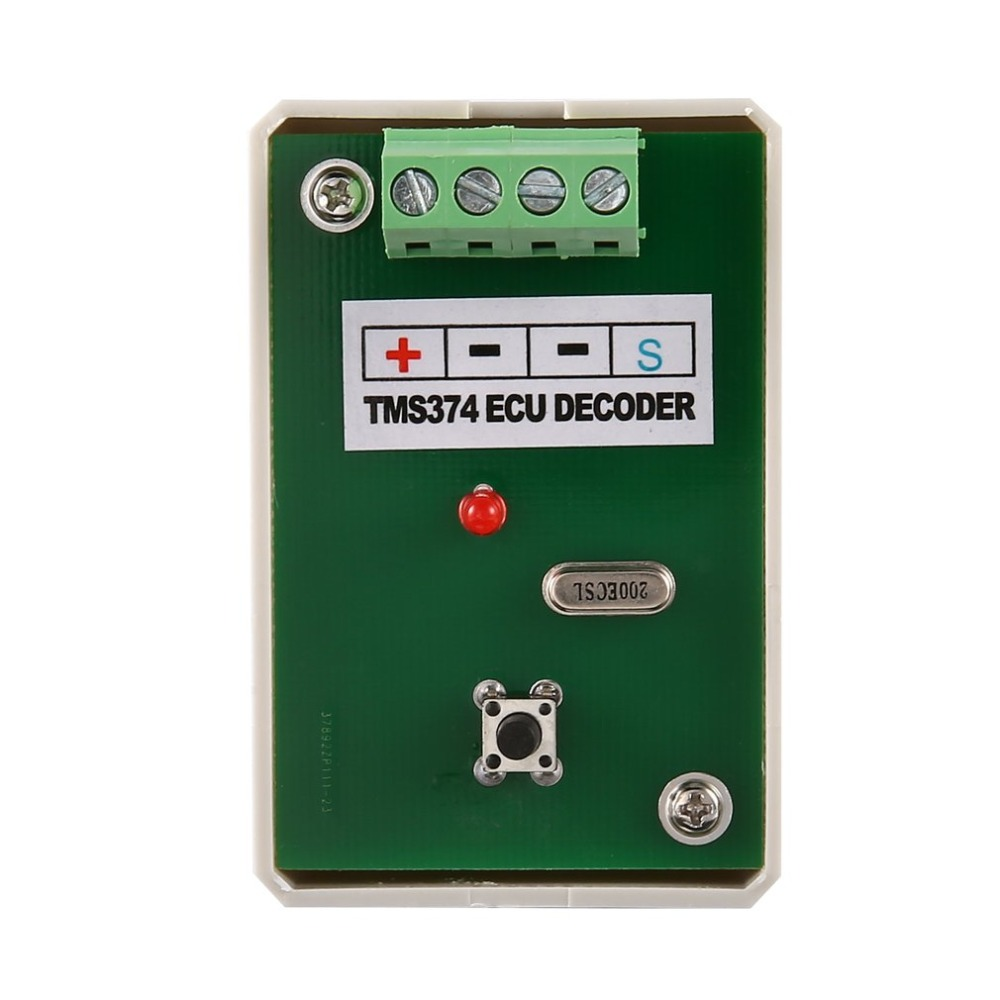 Professional TMS374 ECU Decoder Frequency Sweeper MCU Auto Programmer Automotive Diagnostic Tool for Cars