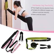 Get Stretching Leg Strap Leg Stretcher Door Flexibility Trainer Premium Stretching Equipment For Ballet Yoga Gymnastics Or Any Sport deliver