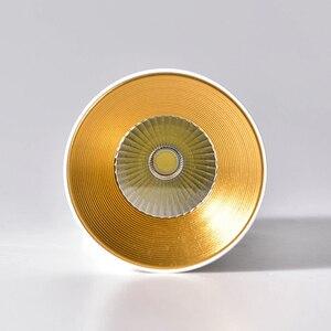 Image 5 - [DBF] נורדי COB צמודי Downlight 10W 12W 15W רקע קיר בגדי חנות Showcase חלון LED תקרת ספוט תאורה