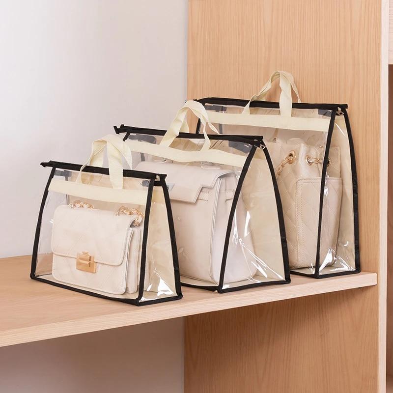 Hanging Handbag Organizer Pockets Shelf