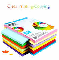 100pcs A4 Colour Office Printing Copy Preferred Paper Base Dust-free Particles Print Card-free Machine Wide Scope of Application