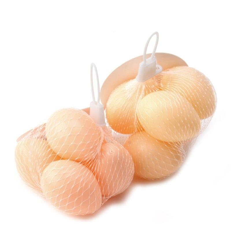 5 шт Пластиковые поддельные куриные яйца птицы слой курятник инкубационное моделирование - 2