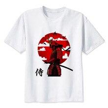 Samurai samura t shirt Men casual short T-Shirts Fashion Print Short Sleeve O Neck Tees MMR654