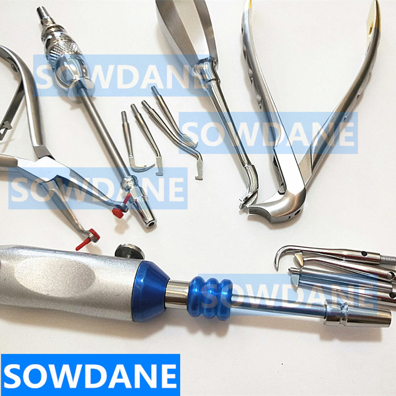 Dental Crown Remover Equipment Dentist Surgical Tool Dentistry Removing Equipment Dental Teeth Crown Removal Kit Spreader Plier