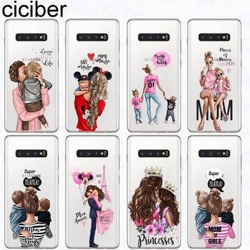 Перейти на Алиэкспресс и купить Ciciber, чехол для телефона для Samsung Galaxy S10 S9 S8 Plus S10e S10 +, мягкий силиконовый чехол для Samsung S7 S5 S6 Edge mini