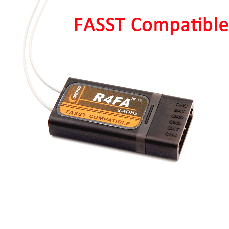 Image 3 - Corona F4FA R6FA F8FA 2.4Ghz FUTABA 10C 12FG 14SG 16SZ 18SZ Fasst Compatible Receiver-in Parts & Accessories from Toys & Hobbies
