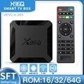 ТВ-приставка X96q, android 10, 4-ядерный процессор, 4K, 2,4G, Wi-Fi, 1 + 8/2/16 ГБ