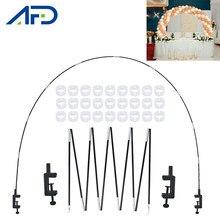 Arche de Table réglable pour ballons, support, colonne, cadre de Base, pour anniversaire, fête prénatale, mariage
