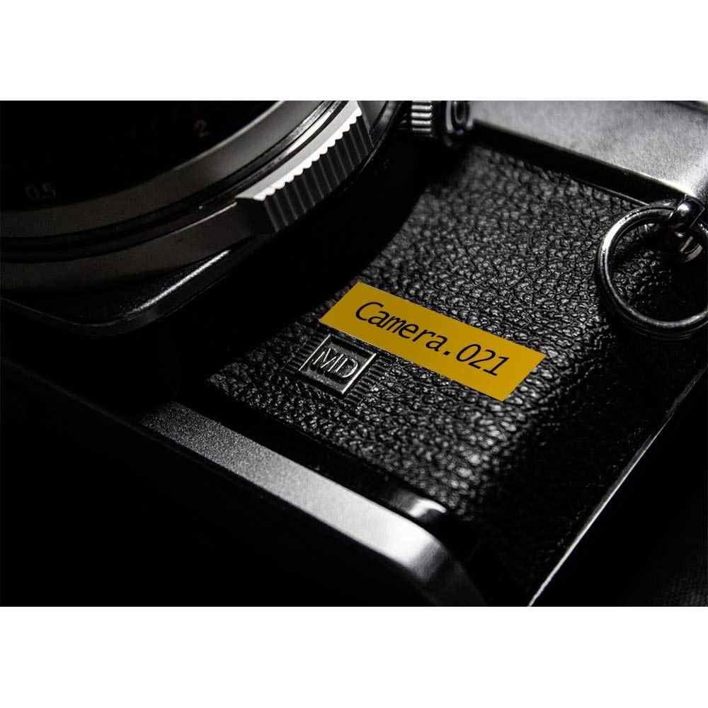 Hoa văn Nhiều Màu cho kính TZe 231 tze231 Đen 12mm trên Băng trắng tze-231 tz-231 cho Brother P-Touch máy in tze-131