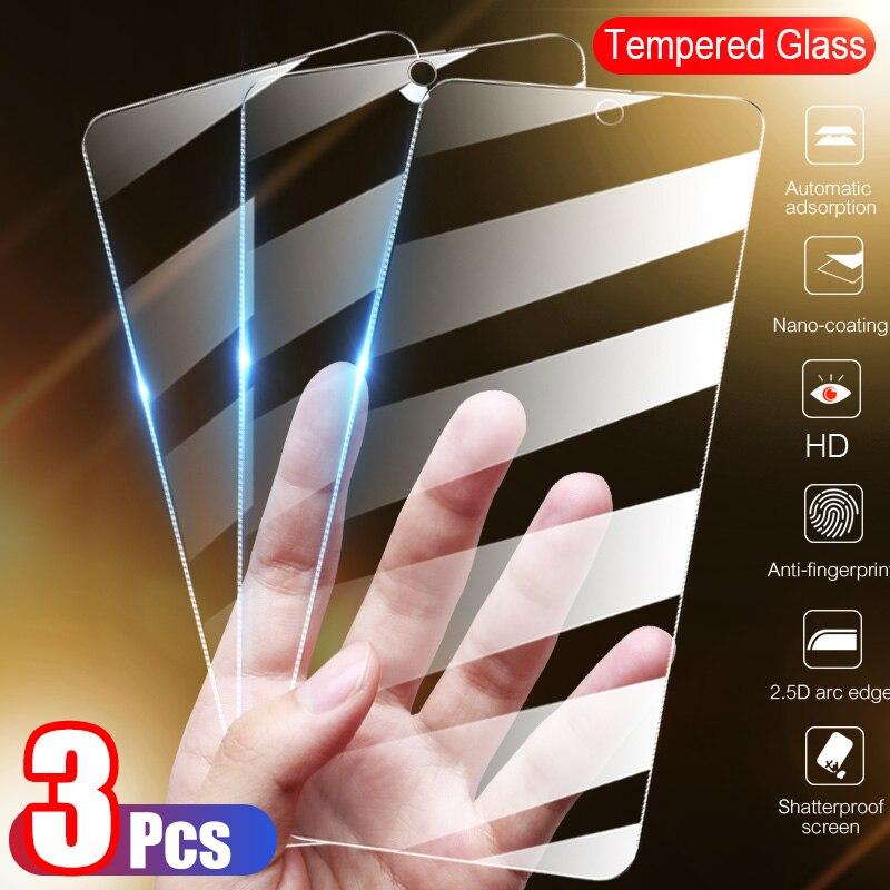 3 шт. ультратонкая пленка из закаленного стекла для Xiaomi Redmi Примечание 8 9 7 Pro Max 8T 9s Защита для экрана для Redmi 7 7A 8 8A 9 9A стеклянная пленка с полны...