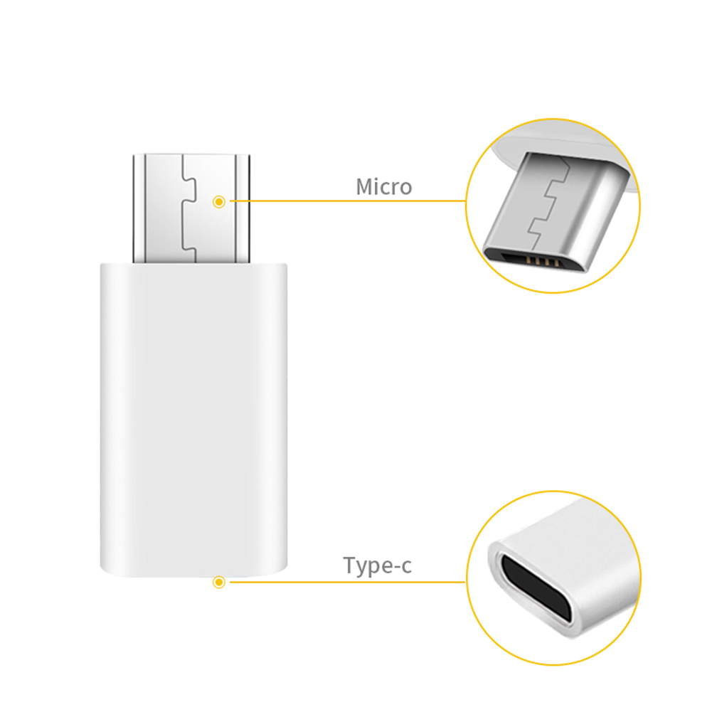 Newly Mini USB 3.1 Type C Female To Micro USB Male Data Charger Adapter Converter For Macbook Oneplus 2 CTN88