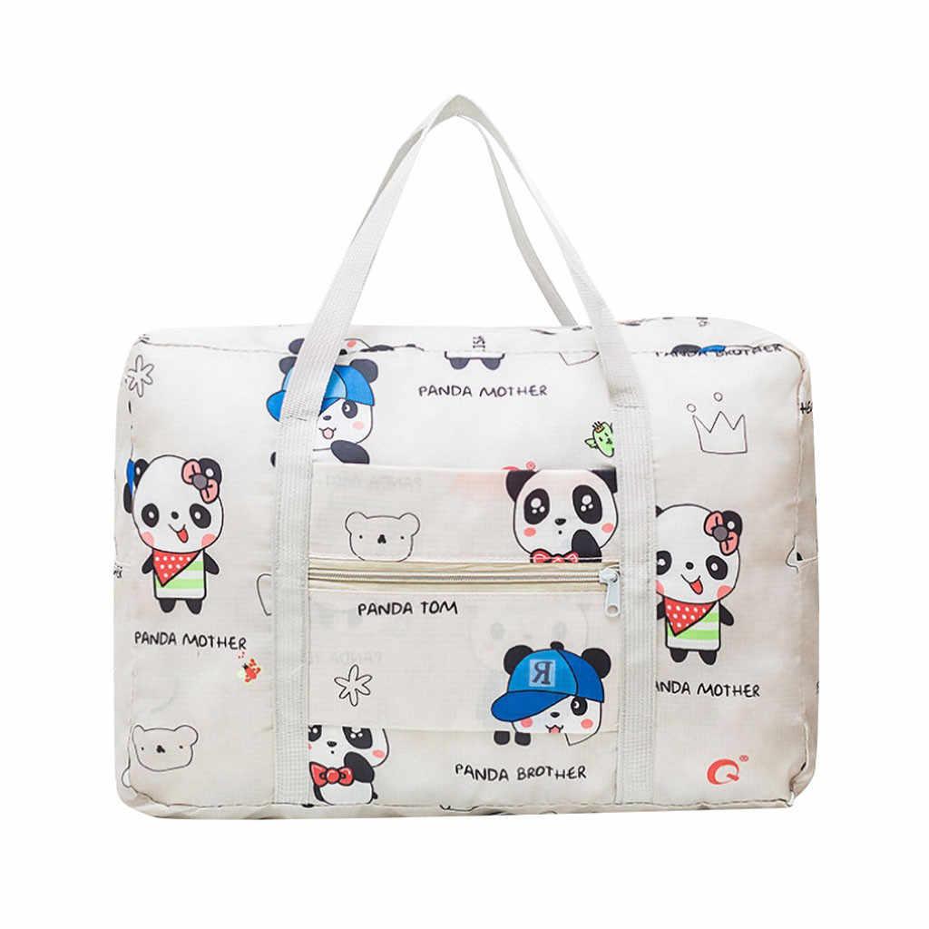 2020 Perjalanan Tas Tas Tangan untuk Wanita Kapasitas Besar Fashion Tas Travel untuk Pria Wanita Tas Perjalanan Bagasi tas Baru