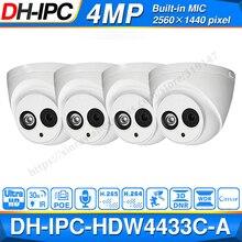 Bán buôn Dahua IPC HDW4433C A 4 POE Mạng Mini Dome Với Tích Micro 4MP Camera quan sát 4 cái/lốc cho Hệ Thống CAMERA QUAN SÁT