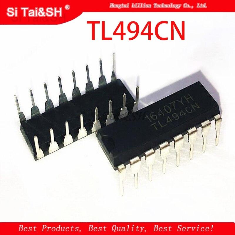 10PCS TL494CN DIP16 TL494C DIP TL494 494CN DIP-16 New And Original IC