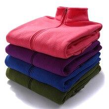 Новинка, флисовая куртка для мужчин и женщин, осенняя, стиль, для мужчин и женщин, толстый теплый флисовый Топ, плащ, куртка