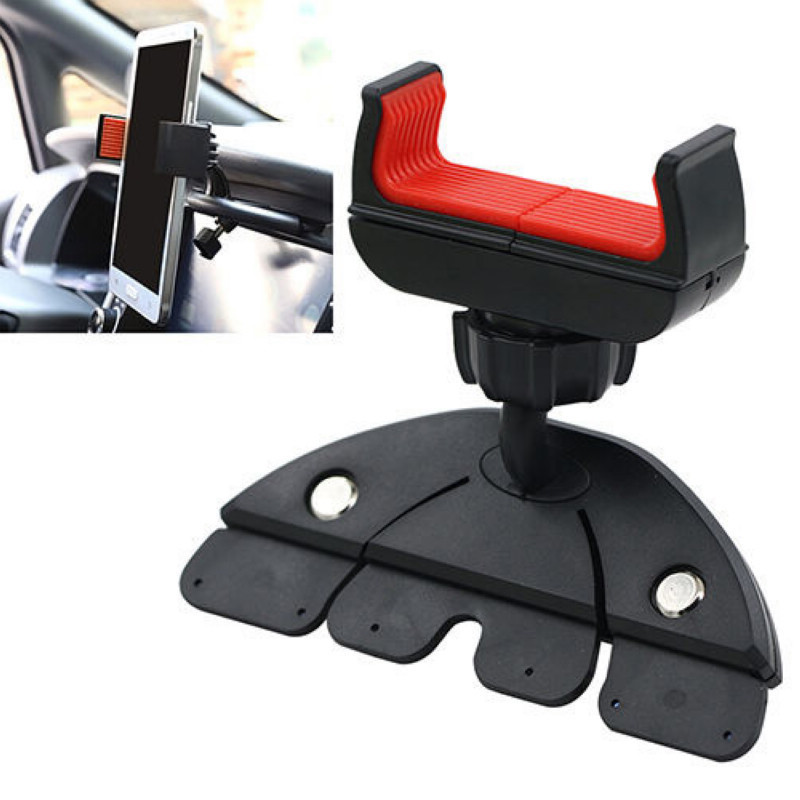 Universal Mount Dock Stand Holders for Smart Mobile Cell Phone GPS CD Slot 360 Degree Car Dash Cradle Holder Stands Accessory