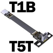 1 x adt-link usb 3.1 cabo adaptador de extensão macho para fêmea tipo-c para tipo-c 15cm cabo de dados 10g/bps USB-C a USB-C