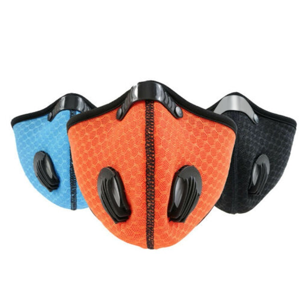 facemask maske Half Face Mouth-muffle Windproof For Bicycle Skiing face maskswashable and reusable face cover facemask maske