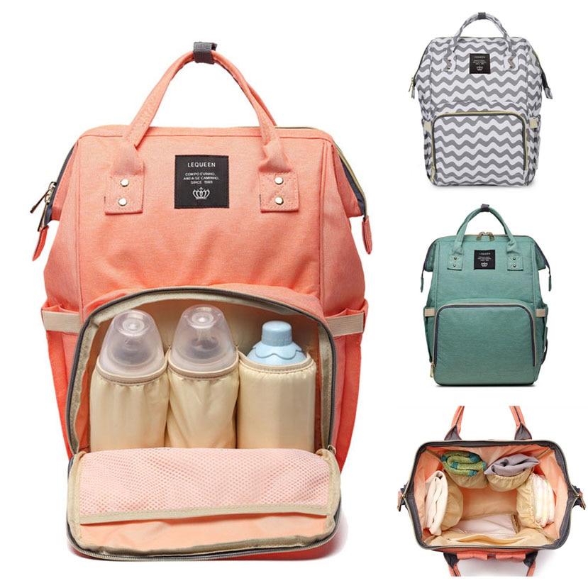 Diaper Bag Backpack Mommy Bag Maternity Large Nappy Bag Bolsa Maternida Printed Bebe Baby Bag Travel Backpack Baby Care Wetbag