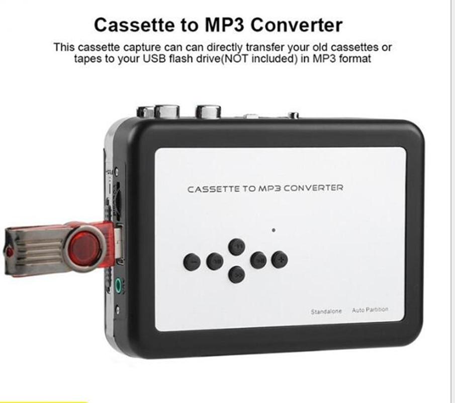 REDAMIGO USB MP3 cassette player capture to MP3 USB Cassette Capture Tape without PC,USB Cassette Converter MP3 Cassette to MP3