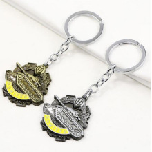 2020 Anime Fashion Jewelry keychain World of Tanks Keychain Wot Dumitru Nichol Metal Medal Keyring keychain For Men Gift цена 2017