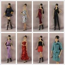 Новинка 2019 года, комбинезоны, платье с блестками и блестками, летняя одежда, костюм, комплект одежды для шарнирной куклы Xinyi, Барби, подарок д...
