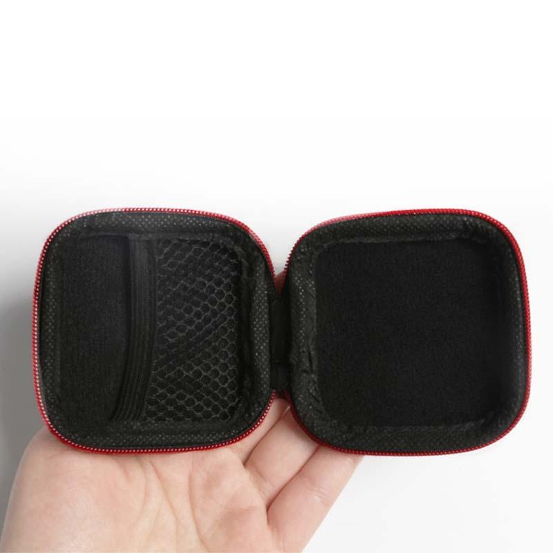 Mini Multifunction Earphones Storage Box Headset Data Line USB Cable SD Card Organizer Case Bag EIG88