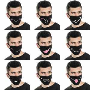Image 1 - Мультяшная мультяшная маска для лица с изображением жареного цыпленка, прохладная маска для верховой езды, Пыленепроницаемая, милая нейтральная/для мужчин и женщин