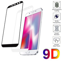 9D Full Cover Tempered Glass on the For Samsung Galaxy J3  A90 A80 A8plus A82018 Screen Protective Film case