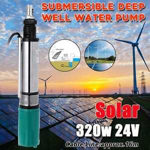 320w 24V 5000/h DC 25m profesjonalna pompa zanurzeniowa solarna studnia głębinowa nawadnianie ogród dom rolniczy wysoka moc