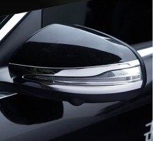 Модифицированный чехол для зеркала заднего вида Benz c200l, декоративная паста для glc260 e300l, яркая полоса для зеркала заднего вида
