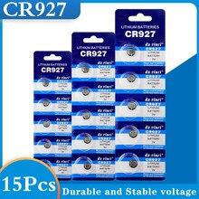 15 pçs cr927 botão baterias para o relógio cr 927 baterias de moedas de lítio pilhas para calculadoras pilas relógio brinquedos computadores