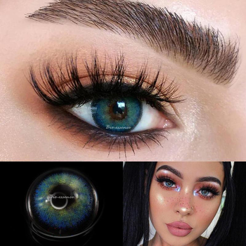 2pcs Egypt Seriers Colored Contact Lenses Eye Year Toss Contact Lenses Color Natural Looking Contact Lens for Eyes UYAAI 2pcs/pair eye contact lenses year use colored contact lenses for eyes colorful contact lens soft colored contact lenses uyaai