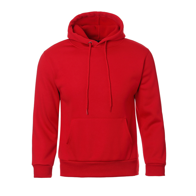 Solid Color Autumn And Winter Women's Sweatshirt Casual Hooded Sweatshirt