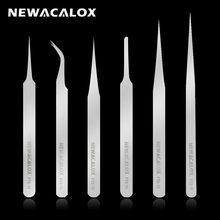 Набор пинцетов newacalox антистатические антимагнитные щипцы