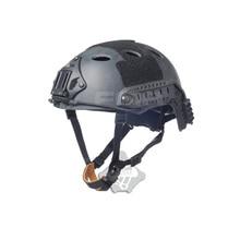 цена на 2019 new men Airsoft Tactical Helmet Fma Quick New Scale Helmet Black Python Series Pj Models Tb872