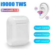 Original I9000 TWS 1: 1 Wireless Bluetooth Mini Headset In Ear Earphone Ecouteur Sans Fil Bluetooth Elari Eardrops Redmi Airdots(China)