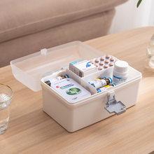 medicine organizer large-capacity medicine cabinet Multi-layer medicine box medicine container Convenient first aid kit for home