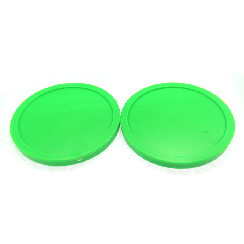 NEW 2pcs Green Air Hockey Table Pusher Puck 63mm 2-1/2