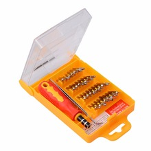 32 in 1 Precision Hardware Screwdriver Kit Screw Driver Tool Sets Portable Stock Offer for Tablets and Mobile Phones Laptops