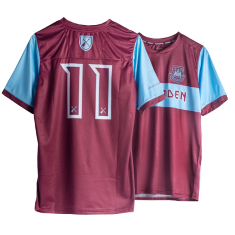 2020 New West Ham Maiden Special Camiseta Jerseys The Hammers West Ham United Die With Your Boots On T-shirt Tee