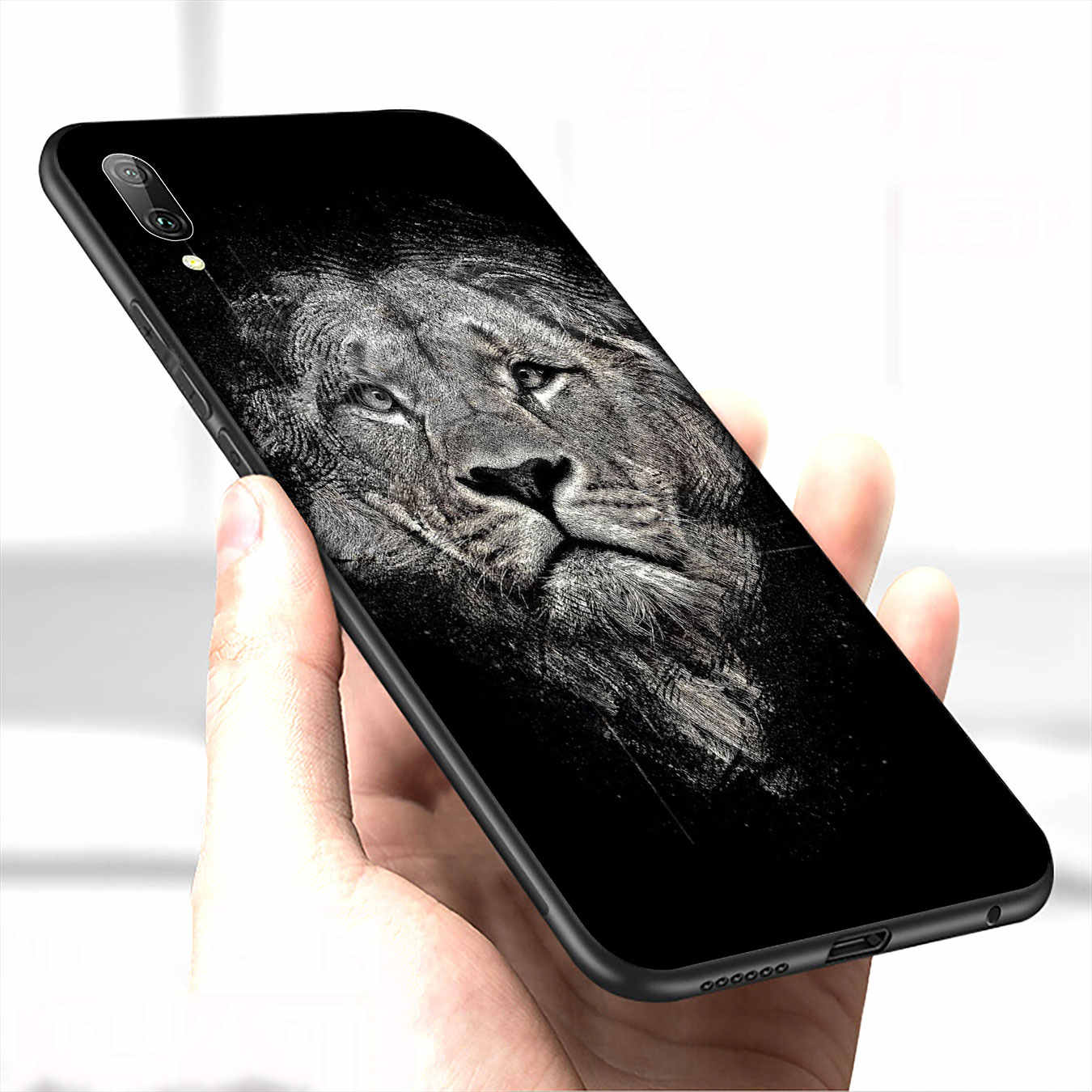 Tigre león leopardo negro africano estepa de funda del teléfono para Huawei P30 P20 Pro P10 P9 Lite 2017 Mini 2016 cubierta P Smart Z 2019