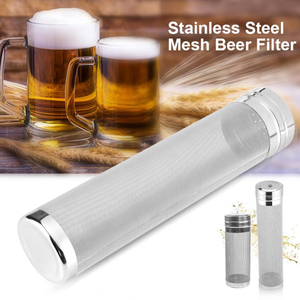 7x18/ 7x29cm Micron Stainless Steel Hop Filter Homebrew Mesh Beer Filter Strainer Dry Hopper For Home Brew Spider Filter